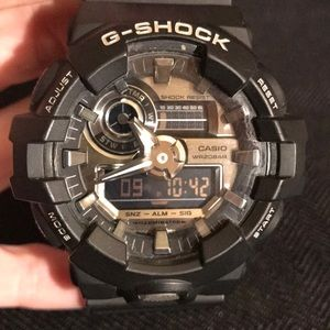 CASIO®️G-SHOCK  BLACKED OUT WATCH
